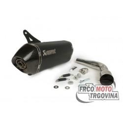 Auspuh  Akrapovič  Slip-On Black Vespa GTS- GTV 125-300 I.E