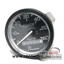 Brzinomjer Facomsa Tomos or. 0-60km
