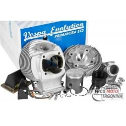 cylinder kit Polini aluminum racing Reed Evolution 135cc 57mm for Vespa 125 Primavera 2T, Primavera ET3 2T
