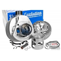 cylinder kit Polini aluminum racing 210cc 68.5mm for Vespa 200 PE, PX