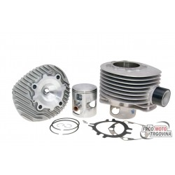 cylinder kit Polini aluminum racing 221cc 68.5mm for Vespa 200 PE, PX