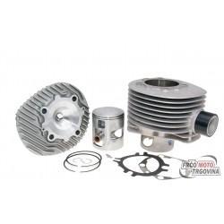 cylinder kit Polini aluminum racing 221cc 68.5mm for Vespa 200 PE, PX