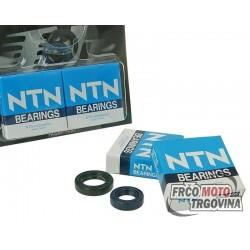 crankshaft bearing set Naraku heavy duty incl. oil seals for Peugeot vertical Euro 1