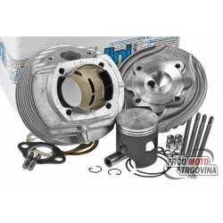 Cylinder kit Polini aluminum racing Evolution 133cc 57mm for Vespa 125 ETS, PK, Primavera 2T, Primavera ET3 2T, XL
