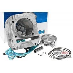 Cylinder kit Polini aluminum 198cc for Piaggio 125cc 4T 2V Leader
