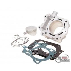 Cilinder kit Polini aluminum 180cc- Aprilia Leonardo, Scarabeo 125/150, Rotax 4T