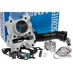 cylinder kit Polini aluminium sport 70cc 44mm for Minarelli 4-stroke