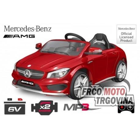 Električni avto Mercedes CLA45 2x 25W 12V 2.4G RC