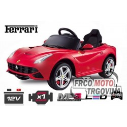Car for kids  - Ferrari F12 1x 25W 12V -Red