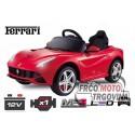 Električni Avto  Ferrari F12 1x 25W 12V - Rdeč