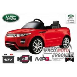 Avto za djecu Land Rover Evoque 2x 25W 12V