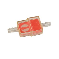 Fuel filter rectangular orange