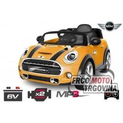 Električni avto Mini 2x30W -6V