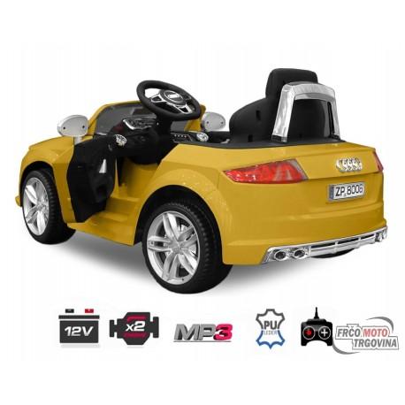 Električni avto - AUDI TTS 2x30W 12V