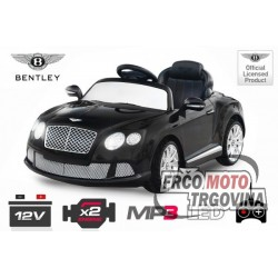 Electric car -Bentley Continental GTC 2x 30W 12V