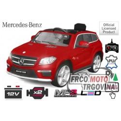 Electric car - Mercedes GL63 Top Version 2x 45W 12V baterija