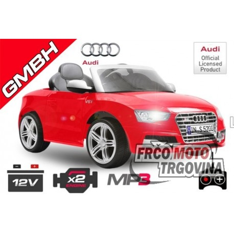 Električni avto - Audi S5 | 2x35W 12V | MP3