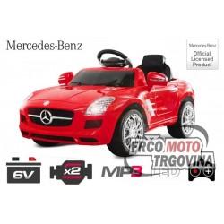 Električni avto- Mercedes SLS AMG 2x 25W 6V