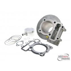Cylinder kit Polini aluminum sport 165cc 60mm for LML 125, 150 4T (carburetor model)