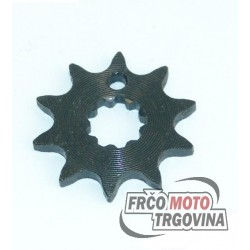 Front sprocket 10 th. Tomos T12 - Puch