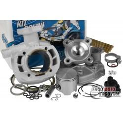 Cylinder kit Polini aluminum sport 70cc for Peugeot horizontal LC