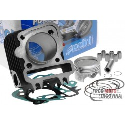 Cylinder kit Polini cast iron sport 79cc 49mm for Piaggio 50 4T 2V
