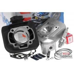 Cylinder kit Polini cast iron racing 70cc for Morini AC