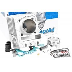 Cilinder kit Polini Sport 80cc, Piaggio / Vespa 50 4T 4V (bez glave)