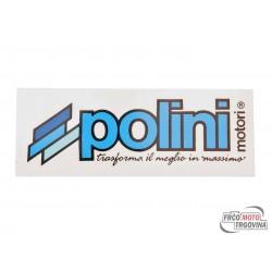 Naljepnica cm.12X4 Polini