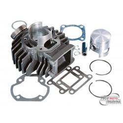 Cilinder kit Polini Sport 63,5cc  Yamaha Bop 50 80-82 / Chappy 50 73-96 AC