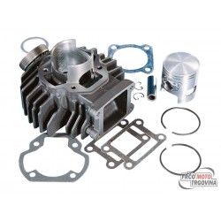 Cylinder kit Polini cast iron 63cc Yamaha Chappy