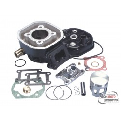 Cylinder kit Polini aluminum sport 70cc 47mm for Malaguti Dune 50, Minarelli MR4