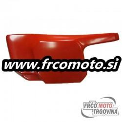 Plastic red left-Tomos CTX - ORIGINAL