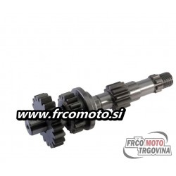 Drive shaft (shift ) - gears 3 - Tomos - Puch