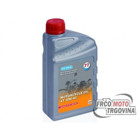 Olje Lubricant 77 - Sintetično -4T  10W40 - 1L
