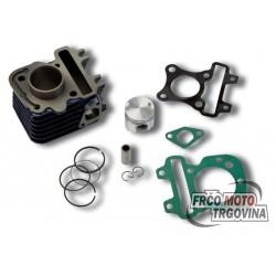 Cilinder Piaggio 4T -50cc - C4 Hiigh Quality