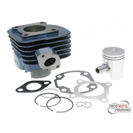 Cilinder kit RMS Blue Line 50cc for CPI, Keeway Euro 2 - 12mm sornik