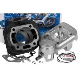Cylinder kit Polini cast iron sport 70cc 10mm for Minarelli horizontal AC, obliquely