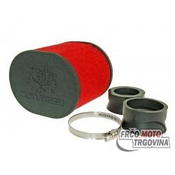 Zračni filtar Malossi E15 oval 42-50-58.5mm priključak karburatora
