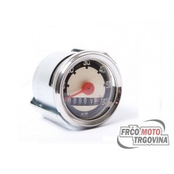 Speedometer 48MM VDO 0-60 km/h - Tomos / Puch