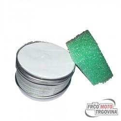 ECO set z gobico - za čiščenje in poliranje ( krom , aluminij , plastika , guma ,steklo )