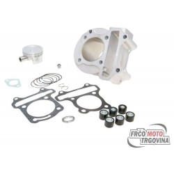 Cylinder kit Polini aluminum sport 80cc 50mm for GY6 China Scooter, Kymco 4-stroke, 139QMB / QMA