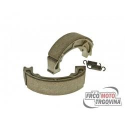 Brake shoe set incl. 2 springs for drum brake 120x25mm