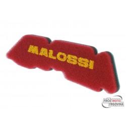 Air filter foam Malossi double red sponge for Derbi , Gilera , Piaggio