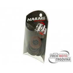 Engine oil seal set Naraku for Kymco 4-stroke, GY6 50cc, 139QMB