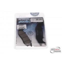 Brake pads Polini organic for Piaggio Liberty 50-150 4T iGet 3V , Medley 16- 4V