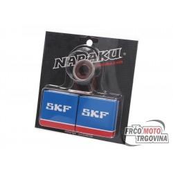 Ležajevi radilice set Naraku SKF C4 za Minarelli AM6