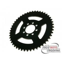 Rear sprocket 48 teeth (chain 420) 8-hole  for Yamaha DT50 R Trail (03-)