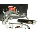 Exhaust Turbo Kit Bufanda RQ chrome for Yamaha DT50 (03-) , MBK X-Limit (03-) , Malaguti