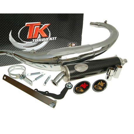 Izpuh Turbo Kit Bajo RQ chrome E-PASS Yamaha DT50 04-